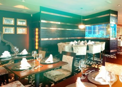 Restaurant Aquarium Room Divider [2]