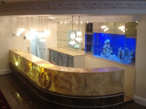 Bar Aquarium for Wedding Venue [33]