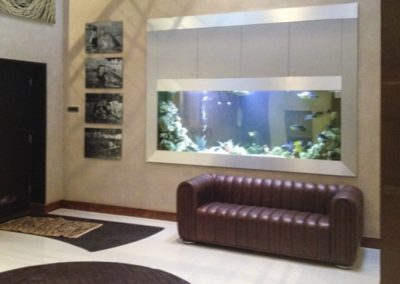 Large Residential In Wall Aquarium [13]