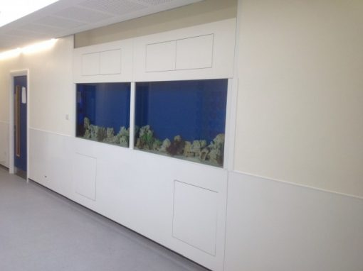 Double Aquariums for a College [35]